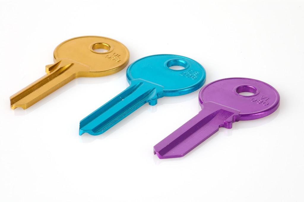 llaves en color