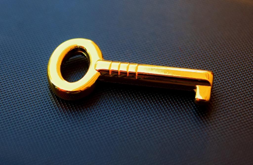 llave de oro