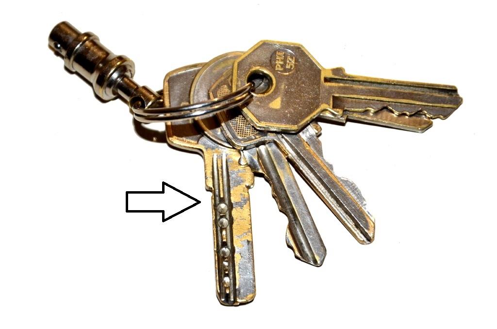 llave de seguridad